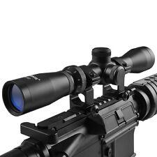 Hunting HD Optics 2-7x32  Long Eye Relief Scope w/ weaver Scope Rings & Cover