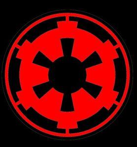 red empire logo star wars decal car window sticker ebay