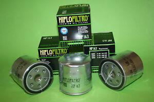 Silber Oil Filter 1999 bis 2001 Hiflo Filtro Ölfilter HF163 für BMW R1100 RT