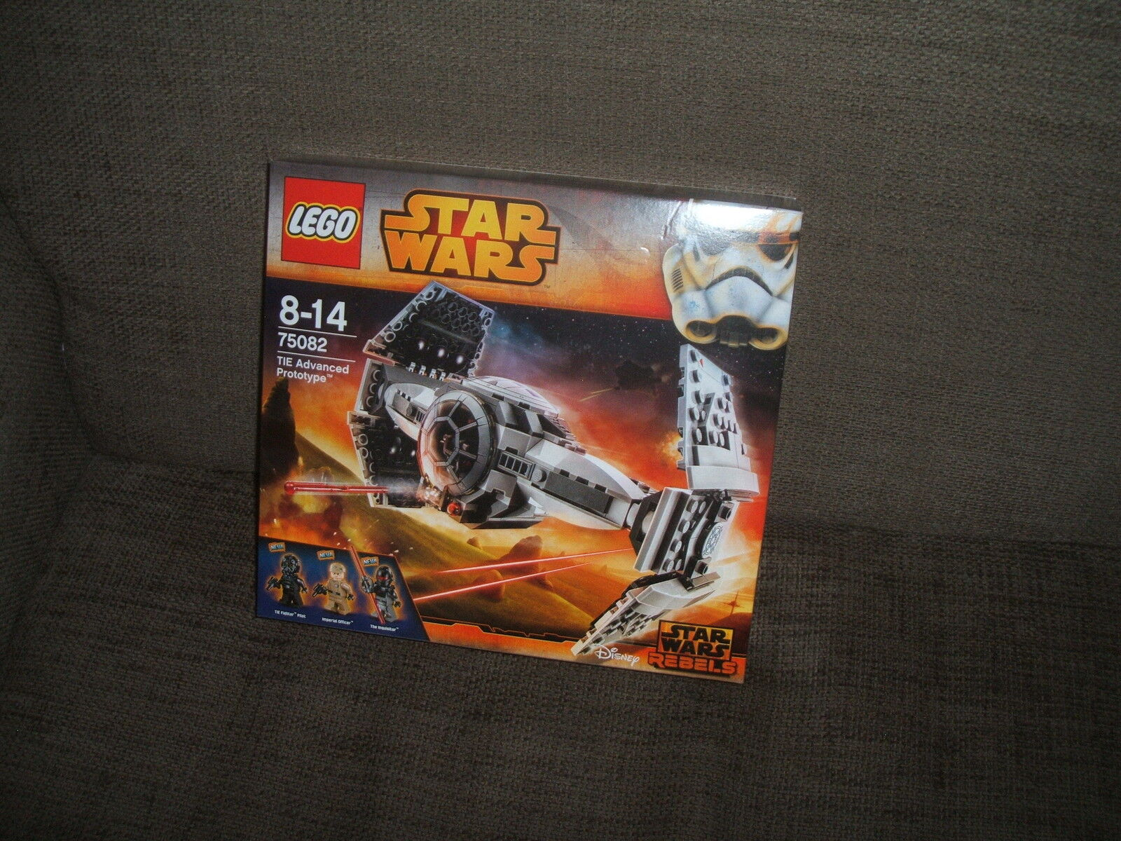 LEGO STAR WARS 75082TIE ADVANCED PROTOTYPEOVP