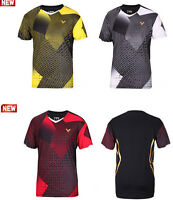 2015 Men Tops Clothes Men's Sports Casual Tennis /badminton T Shirt 3007