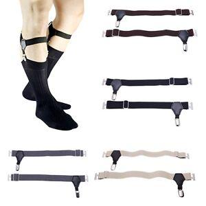05403e5b54d05 Image is loading Men-039-s-Uniform-Clip-Sock-Suspender-Garters-