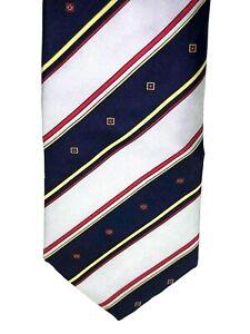 CARDINALE-FIRENZE-Striped-Patterned-100-Silk-3-25-Width-56-034-Length