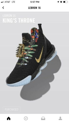 10 5 Mens s Nike Lebron 16 King Throne pqzZAFS