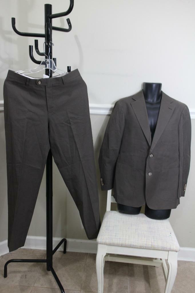 SUITSSUPPLY HUDSON INTL Brown 2 Button Hudson Blazer and Pants Suit Size 40