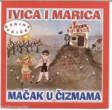 IVICA I MARICA CD Macak u Cizmama Braca Grimm Kroatisch Djecji Bajke Hrvatski