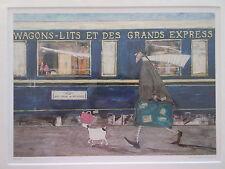 Sam Toft, Orient Express Ooh La La-nueva impresión montado - 43 X 35 Cm
