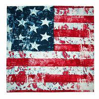 Mtl Distressed American Flag Bandana