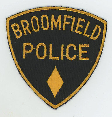 BROOMFIELD COLORADO CO City and County SWAT POLICE PATCH