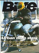 BMWR850R,BUELL Si,YAMAHATDM850 & DUCATI M750 ROADTEST MOTORBIKE BROCHURE FEB1997