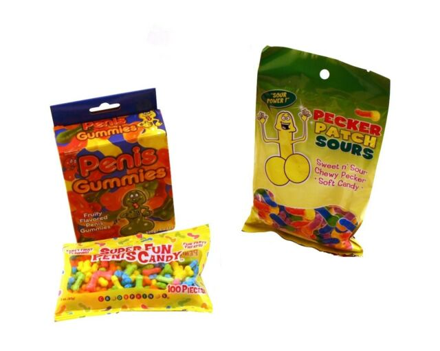 Triple Eat A Bag Of Dicks Hens Night Penis Gummy Candy Bachelorette Party Candy
