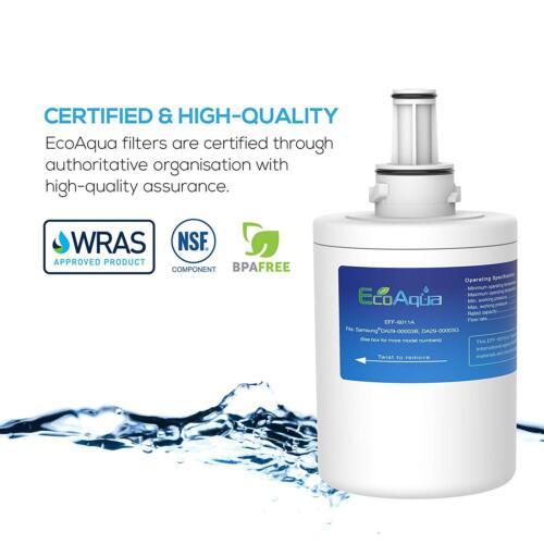 3 X Samsung Aqua Pure Plus RS 21 jcsv 1 RS 21 jgns Compatibile Frigo Acqua Filtro