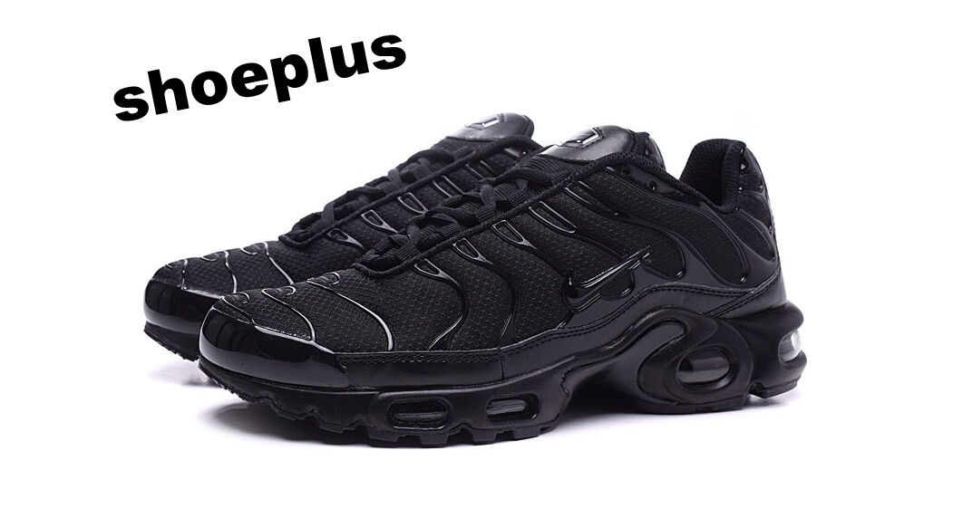 "Nike Air Max Plus Tuned 1 Tn ""Triple Black"" Unisex Trainer Limited Edition"