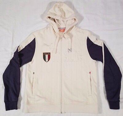 PUMA Mens Italia T7 Full Zip Hoody