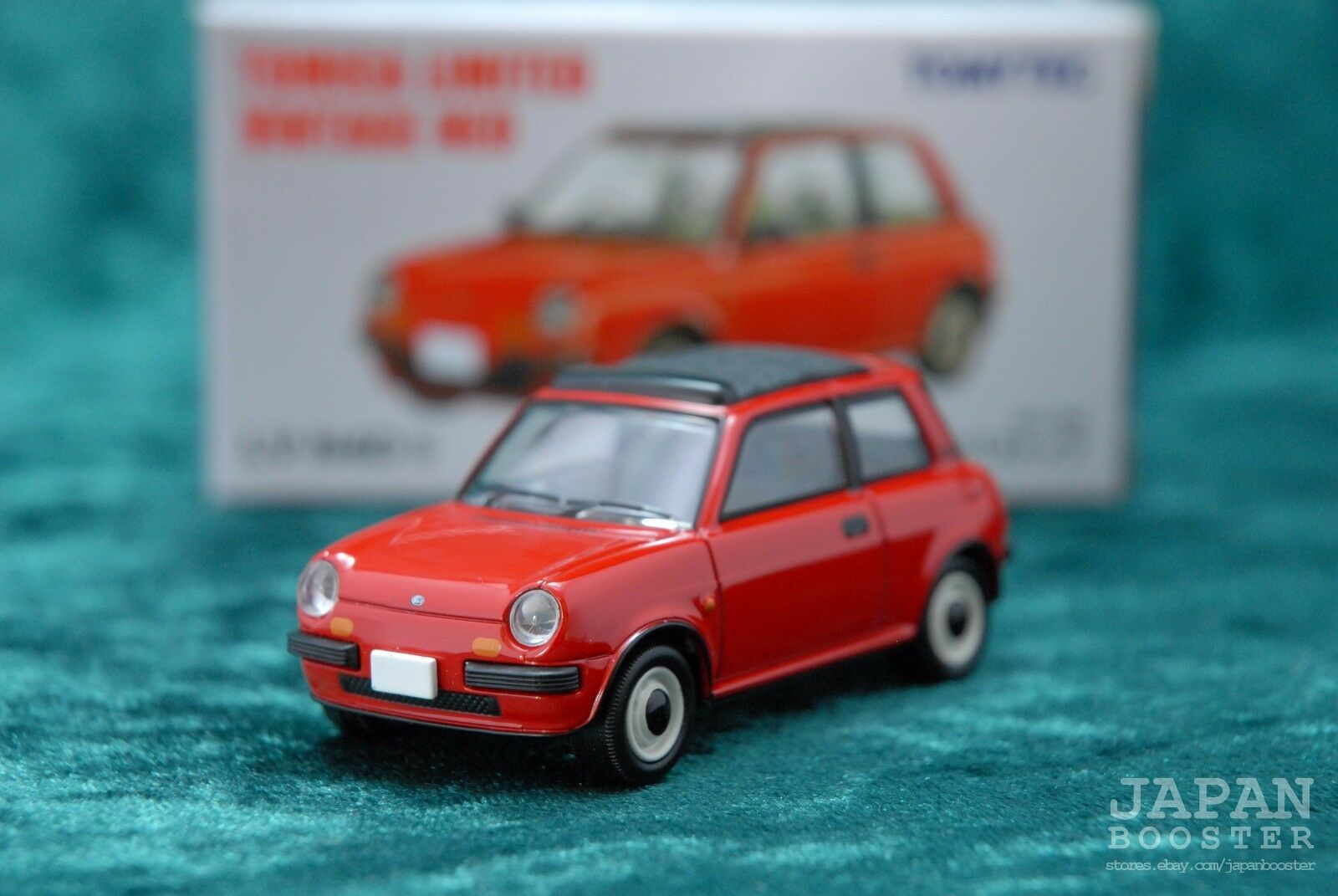 Tomica Limited Vintage Tlv N40b Nissan Be 1 Canvas Top Red For Sale Online Ebay