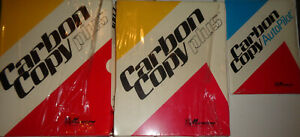 Carbon-Copy-Plus-2-copies-unused-Carbon-Copy-Autopilot-brand-new-1989