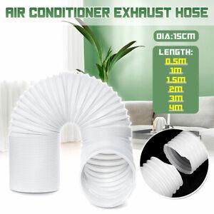 Tubo-Scarico-Hose-DIA15cm-6-039-039-0-5-1-1-5-2-3-4m-Per-Condizionatore-Portatile