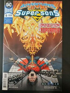 ADVENTURES-of-the-SUPER-SONS-5-of-12-2019-DC-Universe-Comics-VF-NM-Book