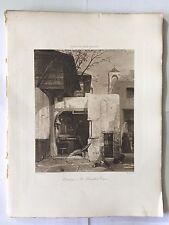 GRAVURE HELIOGRAVURE CHAUVET GEORGES PETIT 1904 DECAMPS LE BOUCHER TURC