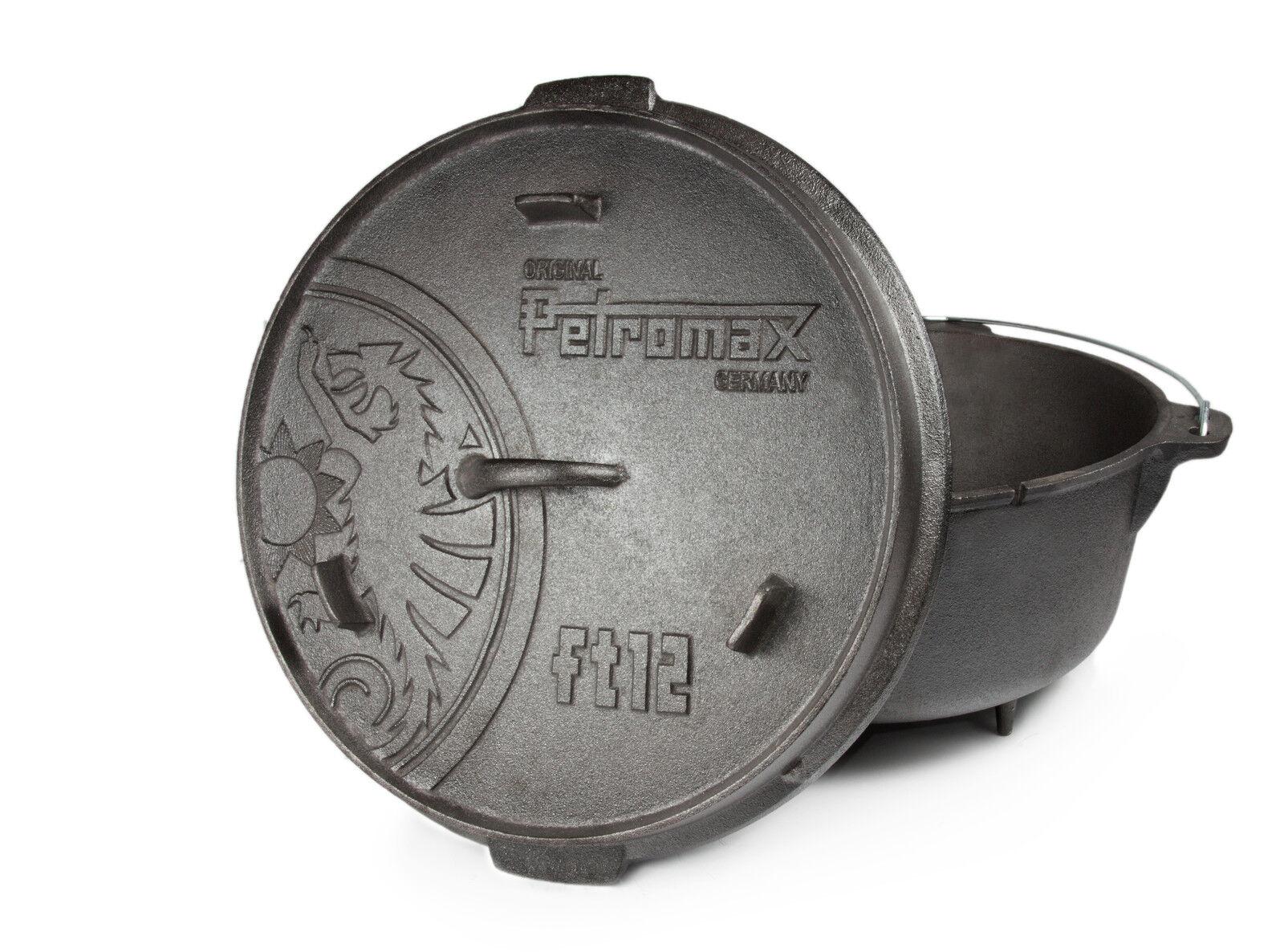 Dutch Oven  NEU  2,5 bis 15 Liter Liter 15 zur Auswahl von Petromax Feuertopf e859fe