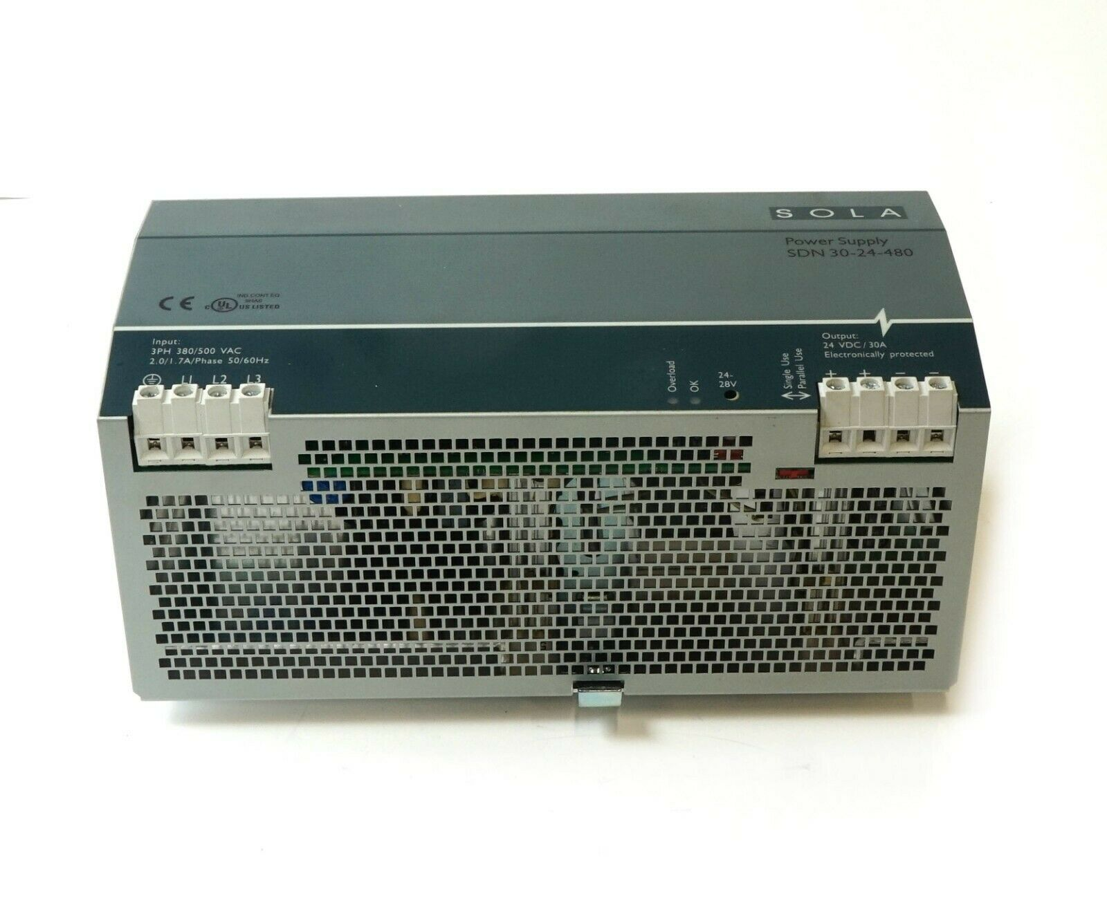 SOLA SDN Power Supply