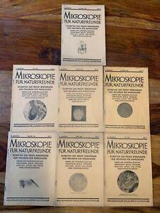 8 Livres Microscopie Pour Nature Amis Original De 1929-afficher Le Titre D'origine éConomisez 50-70%