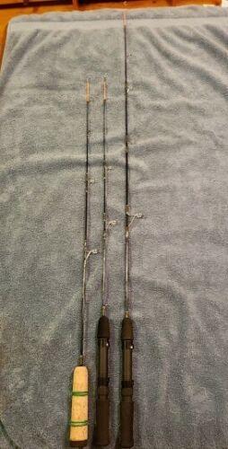 Perch Assault ice fishing rods-three models