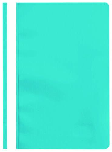 15 X Stylex Türkis Schnellhefter DIN A4 Sichthefter Hefter PP-Folie transparent