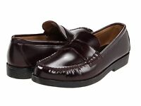 Boys Sperry Burgundy Penny Loafer Youth Size 3 Narrow