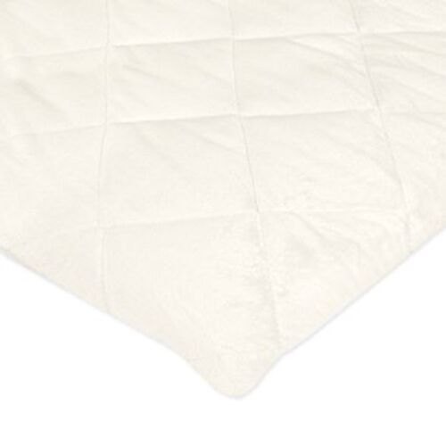Carter/'s Quilted Playard Sheet Solid Ivory One Size
