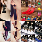 Fashion Bohemian Earrings Women Long Tassel Drop Boho Dangle Earrings Jewelry
