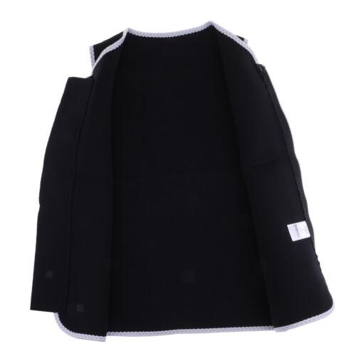 Damen Wetsuits Top Premium Neopren 3mm Reißverschluss Neoprenanzug Weste