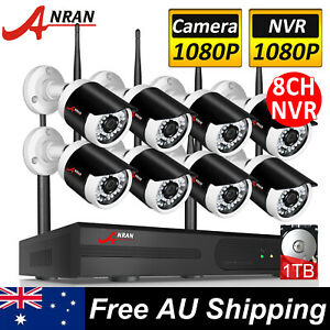 ANRAN-CCTV-Wireless-Security-Camera-System-Outdoor-IP-WIFI-1080P-8CH-NVR-1TB-HDD
