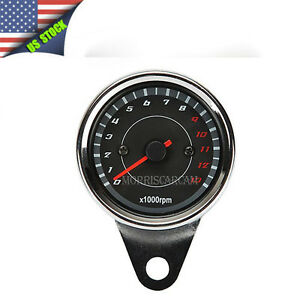 Led Motorcycle Tachometer Gauge For Honda Shadow Vt750 1100 Vtx 1300