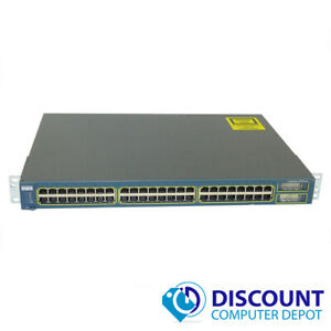 Cisco-WS-C2950G-48-EI-Catalyst-24-Port-10-100-Fast-Ethernet-Network-Switch