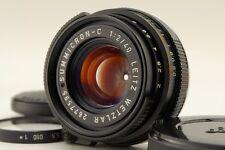 【NEAR MINT】 Leitz Wetzlar Summicron-C 40mm f2 Lens Leica M CL CLE from Japan#627