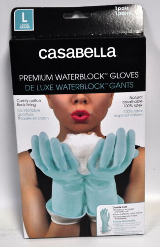 Casabella Water Block Premium Gloves Large Blue