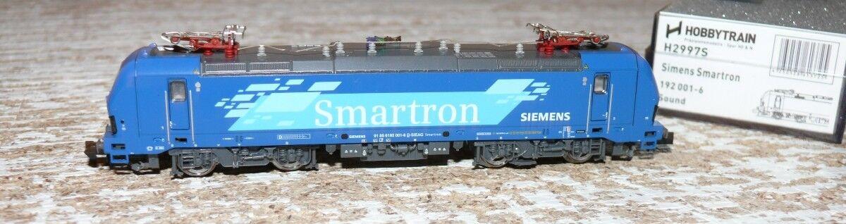 HS Hobbytrain h2997s Siemens e-Lok br192 Vectron Siemens prototipo su SOUND N