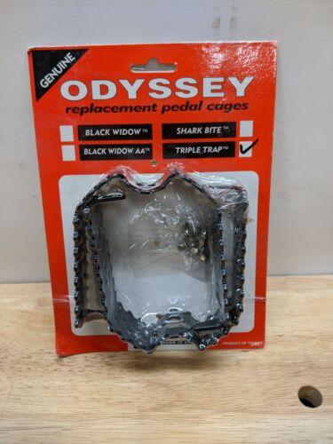 Odyssey Triple Piège Pédale Cage Set Black new old stock Mid School GT DYNO REDLINE Auburn