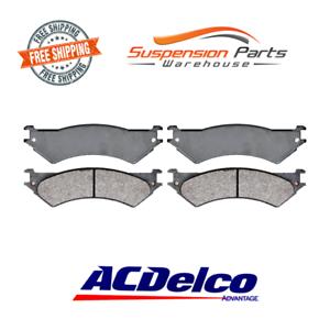 14D802M-Rear-Disc-Brake-Pads-Set-For-Ford-E-150-E250-E-350-Econoline-1999-2007