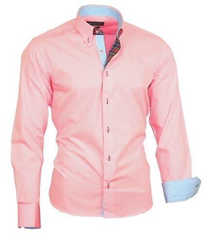 Herrenhemd Hemd Oberhemd Shirt Hochzeit Binder de Luxe 82302 rosa