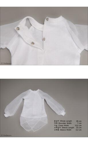 "White Dollmore  1//3 BJD 22/"" doll clothes  SD size T shirts Urashi T"