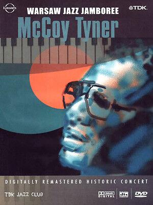 McCoy Tyner Live At The Warsaw Jazz Jamboree 1991 DVD NEW SEALED