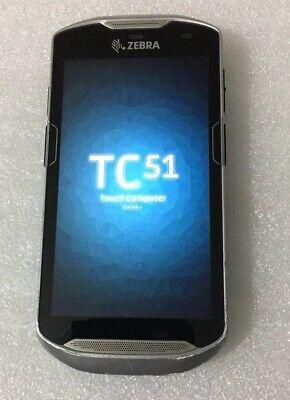 Zebra TC51 TC510K-1PAZU2P 1D 2D Barcode Scanner PDA Android 8 OREO GMS /  Non-GM | eBay