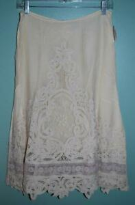 Anthropologie-Future-Paradise-Battenburg-Lace-Skirt-Ivory-Boho-333-sz-2-fits-4
