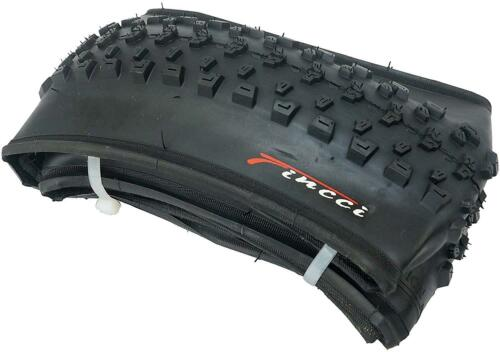 Fincci Pair 26 x 1.95 Foldable Tyres for Mountain MTB Dirt Offroad Bike Bicycle