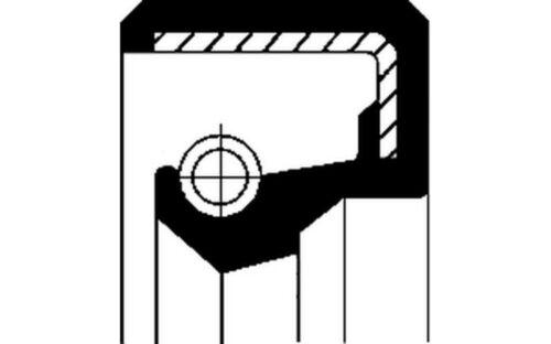 CORTECO Anillo retén cubo de rueda 19027876B