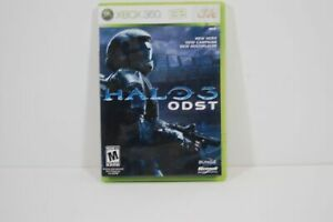 Authentic Microsoft Xbox 360 Halo 3 ODST Video Game FREE SHIPPING SEE STORE!