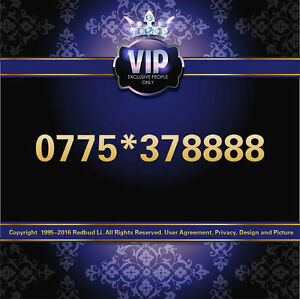 Details about VIP GOLD PLATINUM DIAMOND LUCKY MOBILE NUMBER SIM CARD 077  5*37 8888