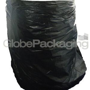 "10 x WHEELIE BIN LINERS REFUSE SACKS BAGS 30x46x54"""